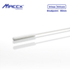 "Maccx 6"" Length Nylon Tipped Collection Swabs with 3.15"" (80mm) Breakpoint, Used for Nasopharyngeal Sample Collection, Pack of 500, NFS080-500"