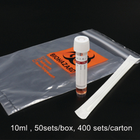 Virus Collection and Transport Kits, 50sets/box, 400 sets/carton, Optional Size 5ml 10ml