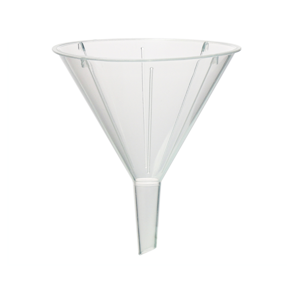 ULAB Scientific Disposable Plastic funnel and Transfer pipette set, 25pcs of funnels, Dia.55x69mm, 100pcs of Pasteur Pipette, Cap.7ml, LDPE material, UGF1003