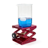 "ULAB Scientific Lab Jack, Aluminium Lift Table, Jack Platform 4.8""x5.5"" Max. Height up to 9.5"", ULJ1001"