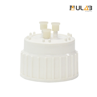 ULAB Scientific Plastic Universal Carboy Venting Cap, TPE Gasket and Port caps, Qucik Filling, UCA1004